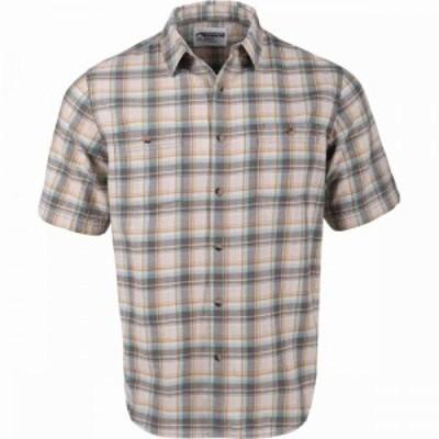 マウンテンカーキス Mountain Khakis メンズ 半袖シャツ トップス Saluda Classic Fit Short - Sleeve Shirt Marsh