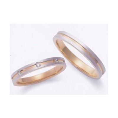 EBP-6L-EBP-6M アンブラッセ Embrasser  PT999 純プラチナ/ K24-999 純金  マリッジリング・結婚指輪・ペアリング用(2本)