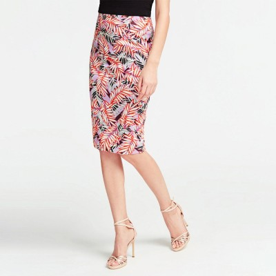 ゲス GUESS Claudette Skirt (VINTAGE AFRICAN LEAVES COMBO)