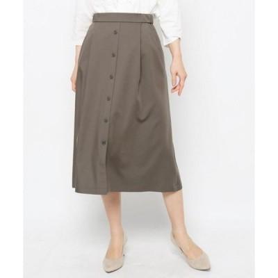 esche / エッシュ フロントボタンストレッチスカート