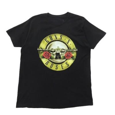 ガンズ・アンド・ローゼズ バンドTシャツ バンT ブラック サイズ表記:L