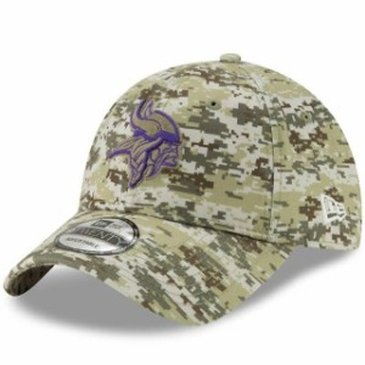 New Era ニュー エラ スポーツ用品  New Era Minnesota Vikings Camo Digi 9TWENTY Adjustable Hat
