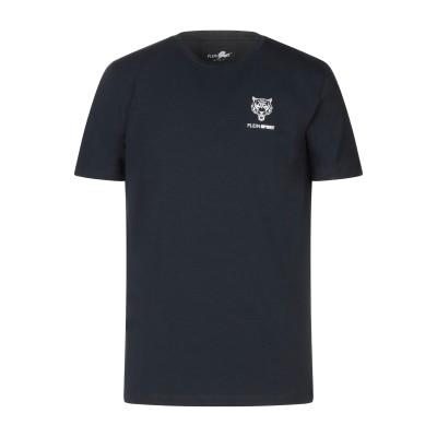 プレイン・スポーツ PLEIN SPORT T シャツ ダークブルー XS コットン 95% / ポリウレタン 5% T シャツ