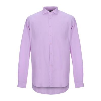 CALLISTO CAMPORA シャツ ライトパープル 38 コットン 100% シャツ