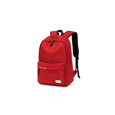 リュック リュックサック ビジネスリュック バックパック 大容量 通学 メンズ レディース 防水バッグ 15.6インチ (red)