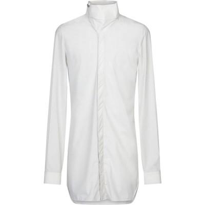リック オウエンス RICK OWENS メンズ シャツ トップス solid color shirt Light grey