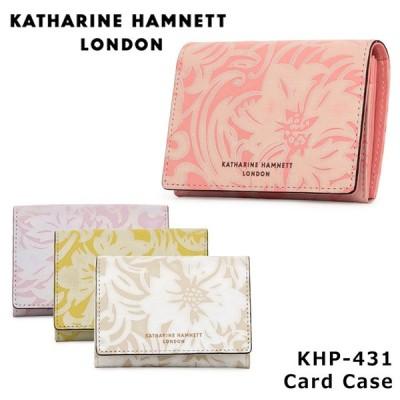 キャサリンハムネット KATHARINE HAMNETT カードケース 431 ナデシコ  名刺入れ レディース レザー  [PO10]