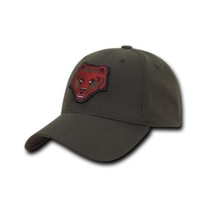 ユニセックス スポーツリーグ アメリカ大学スポーツ NCAA Brown Bears University Low Constructed Flex Acrylic Baseball Caps Hats