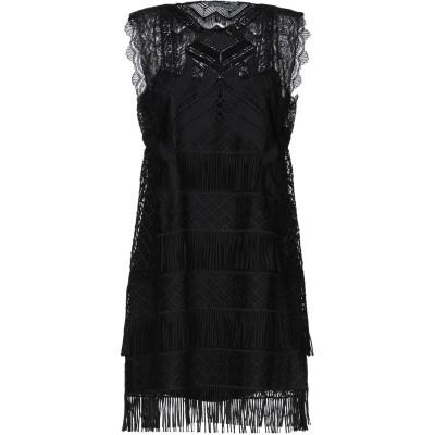 アルベルタ フェレッティ ALBERTA FERRETTI ミニワンピース&ドレス ブラック 40 ポリエステル 100% ミニワンピース&ドレス