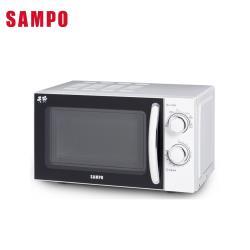 SAMPO聲寶 20L機械式轉盤微波爐 RE-N820TR-庫