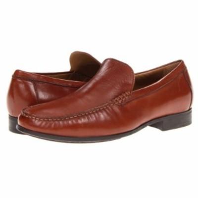 ジョンストンandマーフィー Johnston and Murphy メンズ スリッポン・フラット シューズ・靴 Cresswell Dress Slip-On Cognac Sheepskin