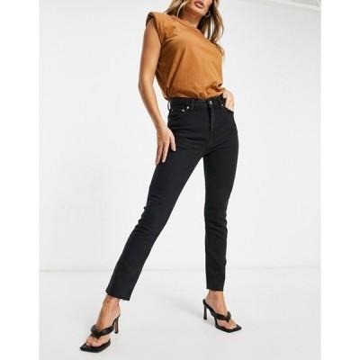 エイソス レディース デニムパンツ ボトムス ASOS DESIGN vintage 'skinny' jeans in washed black