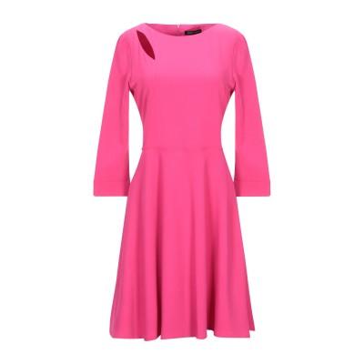 MARIELLA ROSATI ミニワンピース&ドレス フューシャ 44 ポリエステル 96% / ポリウレタン 4% ミニワンピース&ドレス