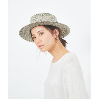 collex/コレックス パターンカンカン帽 ブラック F