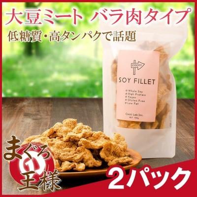 大豆ミート ソイミート フィレ バラ肉タイプ 100g ×2パック