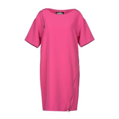 ジェレミー・スコット JEREMY SCOTT ミニワンピース&ドレス フューシャ 38 ポリエステル 98% / 指定外繊維 2% ミニワンピース