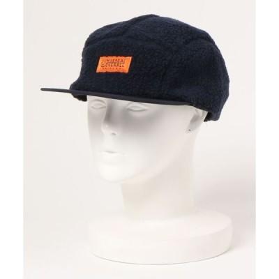 帽子 キャップ 【UNIVERSALOVERALL/ユニバーサルオーバーオール】ボアジェットキャップ ワンポイント ピスネーム ブランドロゴ