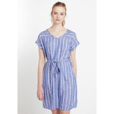ジェイディーワイ ワンピース レディース トップス JDYJANINE DRESS - Day dress - blue/white