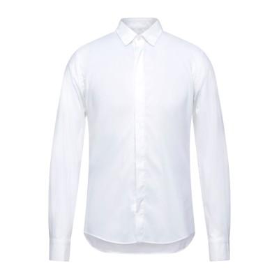 LOW BRAND シャツ ホワイト 3 コットン 73% / ナイロン 24% / ポリウレタン 3% シャツ
