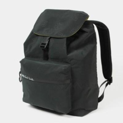 ポールスミス Paul Smith メンズ ロゴ バッグパック MEN BAG BACKPACK VARSITY BLACK M2A-6685-FVARSI【送料無料】
