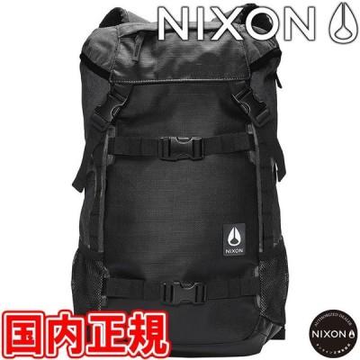 9000円以上で800円OFF!3/3(水)まで!ニクソン ランドロック3 バックパック ブラック リュックサック NIXON C2813000-00 あすつく