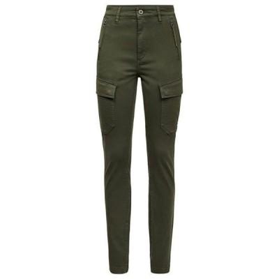 ジースター レディース ウェア ズボン High Waist G-Shape Skinny Cargo Pants