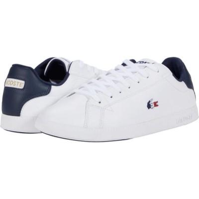 ラコステ Lacoste メンズ シューズ・靴 Graduate Tri 1 White/Navy/Red