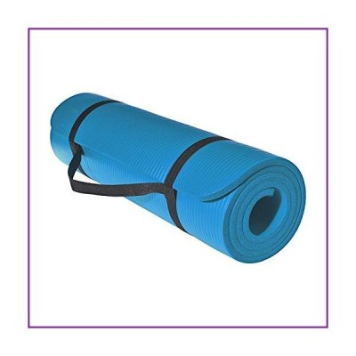 Thick and Comfortable Fitness Yoga Mat 10mm (Blue)【並行輸入品】