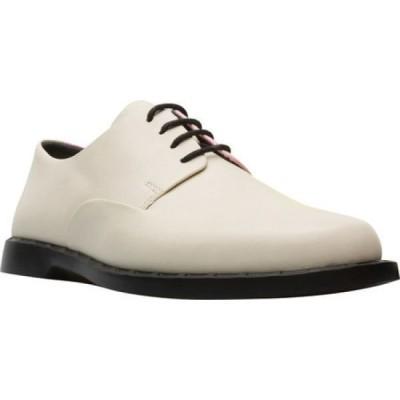 カンペール Camper レディース ローファー・オックスフォード シューズ・靴 Twins Plain Toe Oxford Light Beige Calfskin