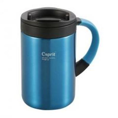 キャプテンスタッグキャプテンスタッグ (CAPTAIN STAG) マグ・シェラカップ シーエスプリ ダブルステンレスマグカップ350 ライトブルー M5378