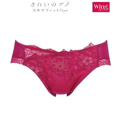 【Wing / Wacoal ウイング/ワコール】ショーツ 【きれいのブラ スキマフィットType】(L) スタンダードショーツ, Panties