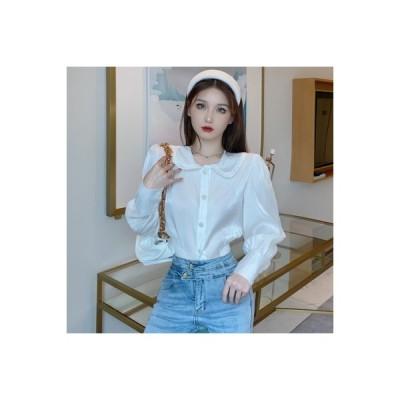 【送料無料】デザイン 感 レトロ 何でも似合う シャツ 女 秋 韓国風 ウエ | 364331_A63723-5653247