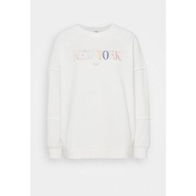 リバーアイランド レディース ファッション Sweatshirt - white