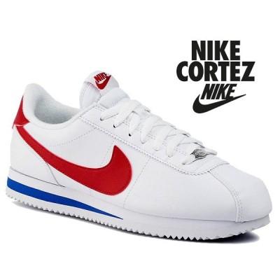ナイキ コルテッツ ベーシック レザー NIKE CORTEZ BASIC LEATHER white/varsity red 819719-103 スニーカー フォレストガンプ Forrest Gump