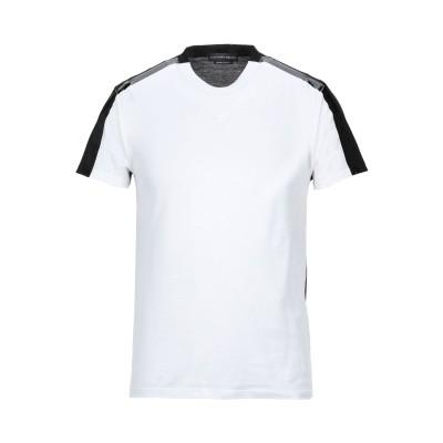 アレキサンダー マックイーン ALEXANDER MCQUEEN T シャツ ホワイト S コットン 100% / ナイロン / ポリウレタン /