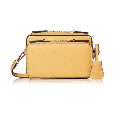 [カシュカシュ] お財布機能付きボックス型ショルダーバッグ 01-00-64310 YE