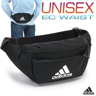 アディダス EC WAIST メンズ/レディース ウエストバッグ ブラック W約31cm×H約12cm×D約7cm GZT47