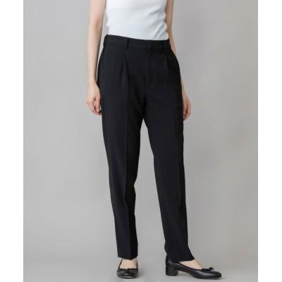 Munich / ストレッチポリエステルクロス テーパードパンツ(セットアップ可) WOMEN パンツ > パンツ
