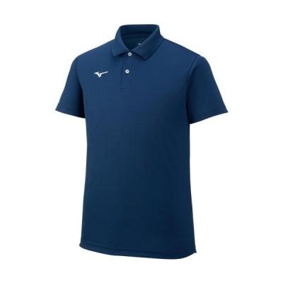 ミズノ ユニセックス ポロシャツ(ドレスネイビー・サイズ:XL) MIZUNO 32MA967014XL 返品種別A