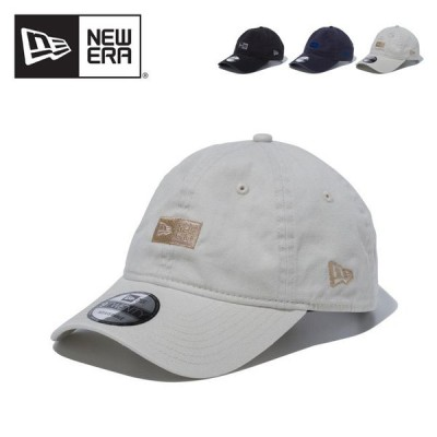 NEW ERA ニューエラ 9TWENTY BOXロゴクロスストラップ NEW ERA 9TWENTY BOX Logo Cloth Strap キャップ 帽子 キャンプ アウトドア
