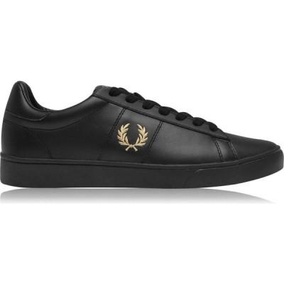 フレッドペリー Fred Perry メンズ スニーカー シューズ・靴 Spencer Trainer Black/Gold
