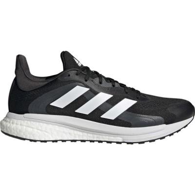 アディダス adidas メンズ ランニング・ウォーキング シューズ・靴 Solar Glide 4 ST Running Shoes Black/White/Grey