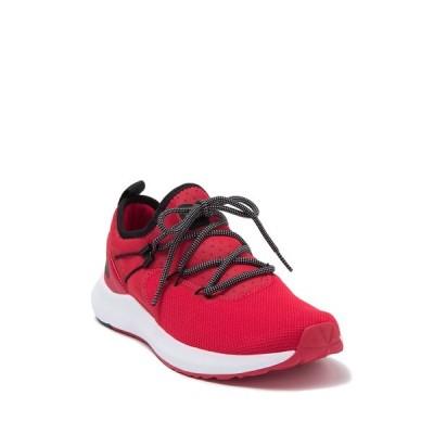 ノースフェイス メンズ スニーカー シューズ Surge Highgate Running Shoe TNF RED/TNF BLK