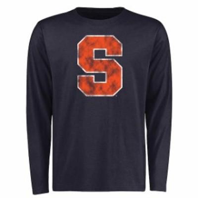 Fanatics Branded ファナティクス ブランド スポーツ用品  Syracuse Orange Navy Big & Tall Classic Primary Long Sle