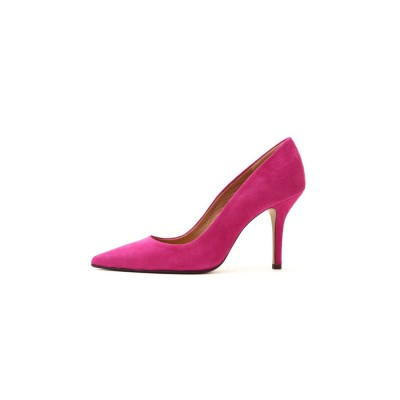 カラーパンプス ピンク
