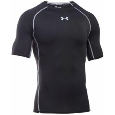 アンダーアーマー メンズ Tシャツ トップス Men's HeatGear® Armour Short Sleeve Compression Shirt Black