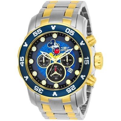 インビクタ 腕時計 メンズ用 Invicta Men's 'Disney Limited Edition' Quartz Stainless Steel Casual Watch, Color:Two Tone (Model: 23769)