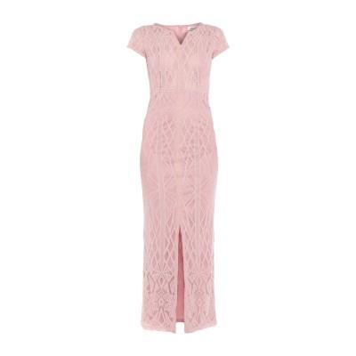 DRY LAKE. ロングワンピース&ドレス ピンク L コットン 60% / ナイロン 40% ロングワンピース&ドレス
