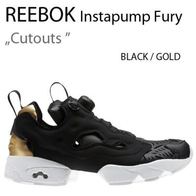 Reebok INSTAPUMP FURY Cutouts BLACK リーボック ブラック  ゴールド ポンプ CM9816