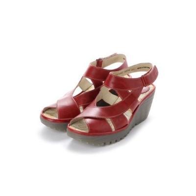 ヨーロッパコンフォートシューズ EU Comfort Shoes FLYLONDON サンダル(500.737) (レッド)